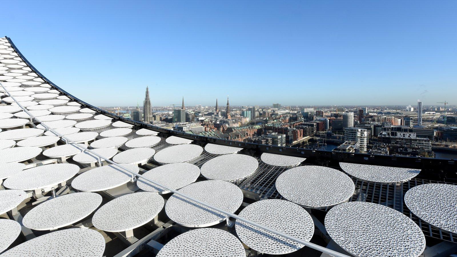 Dach Elbphilharmonie